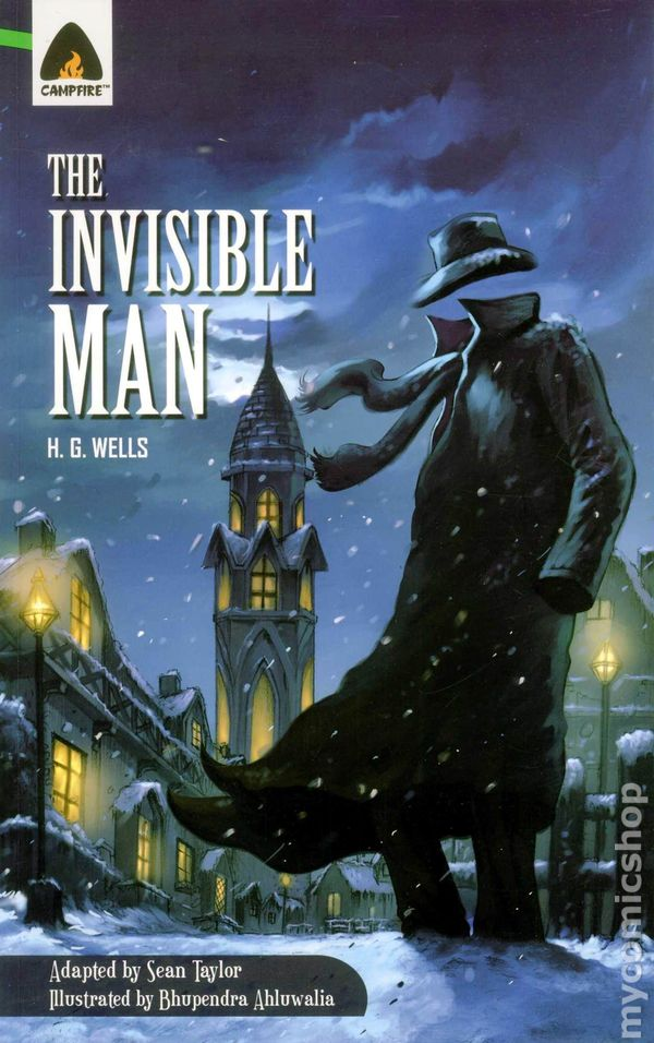 a literary analysis of the invisible man by hg wells Alph ellison's first novel, the invisible man, is the most impressive work of fiction by an american negro which i have ever read unlike richard wright and willard motley, who achieve their best effects by overpowering their readers with documentary detail, mr ellison is a finished novelist who uses words with great skill, who writes with.