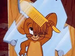 Tom And Jerry Hair GIF - TomAndJerry Jerry Hair - Discover & Share GIFs