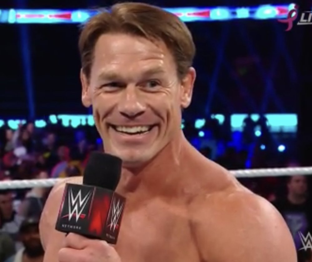 John Cena S New Haircut Seems Peculiar Pictures Included
