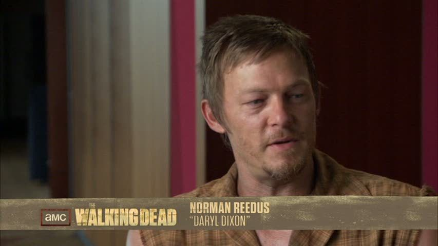 Norman Reedusdaryl Dixon From The Walking Dead Wears A Toupee
