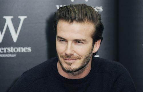 David Beckham HAIR TRANSPLANT PROOF