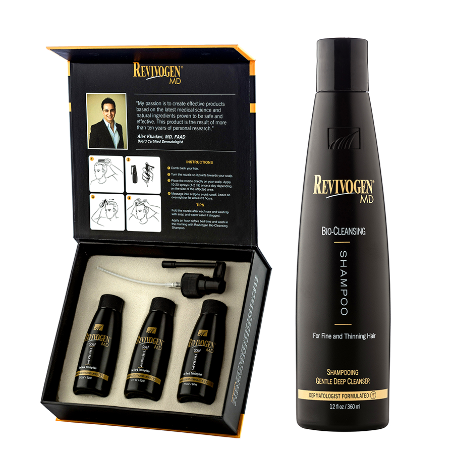 Hair loss regimen without propecia