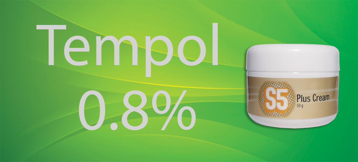 S5 Plus Cream – Tempol Content Reduced for Stability